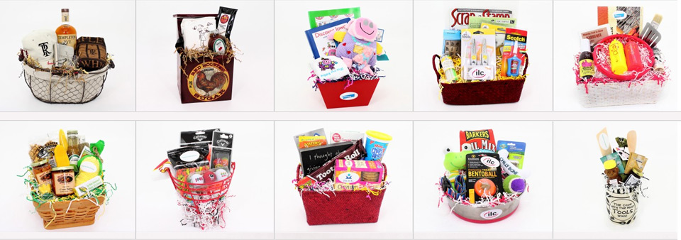 View our portfolio of custom baskets