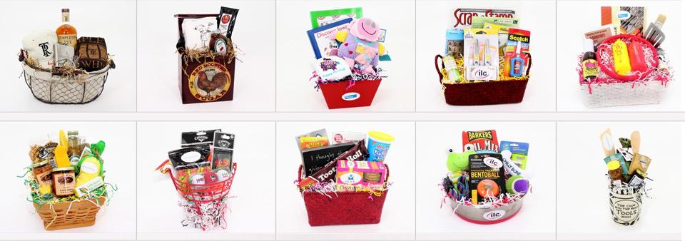 View our portfolio of custom baskets